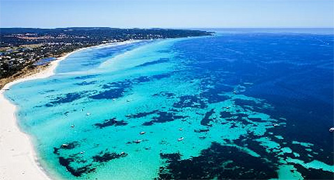 Dunsborough from the sky